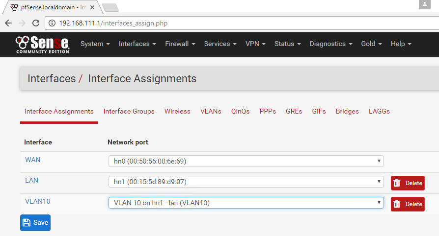 PfSense VLAN with Hyper-V – Schimpie net
